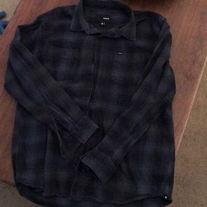 Other - Hurley XL Button Up Flannel Shirt